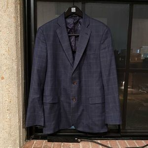 "✨ HP Brooks Brothers ""346"" Window Pane Sportcoat"